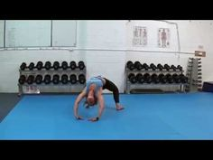 Ninja Cartwheel to Back Bridge Flow - Bodyweight Movement - Sydney Strength & Conditioning - YouTube
