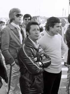 Ronnie Peterson, Mario Andretti, Jackie Ickx.