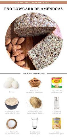 Pão de amendoas