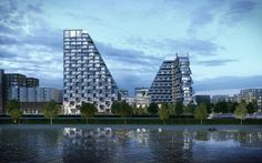 Peter Pichler Architecture Wins Competition for Looping Towers in The Netherlands,Courtesy of Peter Pichler Architecture