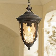 """Bellagio™ Collection 18"""" High Outdoor Hanging Light"""