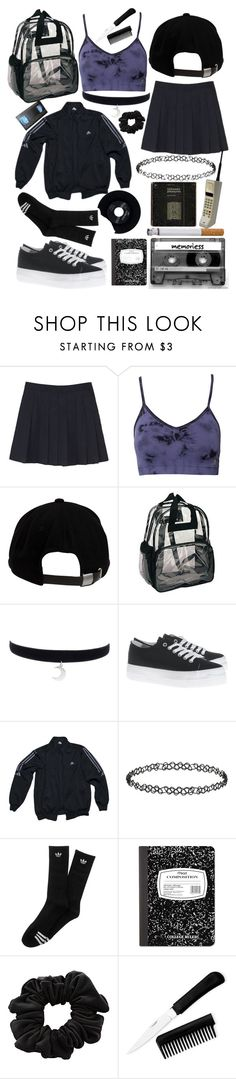 """""""90s x"""" by palemoonlight-x on Polyvore featuring mode, adidas, Brixton, Defeeter, Topshop, CASSETTE, Mead, American Apparel, CHESTERFIELD en women's clothing"""