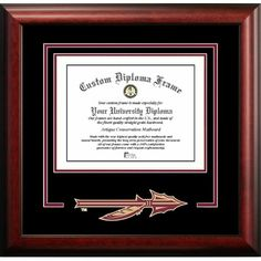 You'll love the NCAA Florida State University Spirit Diploma Picture Frame at Wayfair - Great Deals on all Décor  products with Free Shipping on most stuff, even the big stuff.