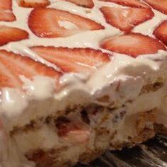 Graham Cracker Strawberry Short Cake