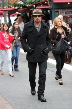 Billy Ray Cyrus spotted at The Grove