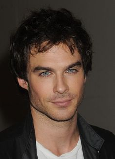 Ian should totally play Christian Grey.