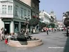 A short stop in Gyor, Hungary.