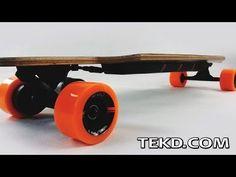 Motorized Coasting on a E-Go Cruiser Electric Longboard