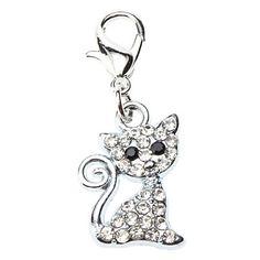 strass decorados adorável estilo gato colar charme para cães gatos – BRL R$ 6,81