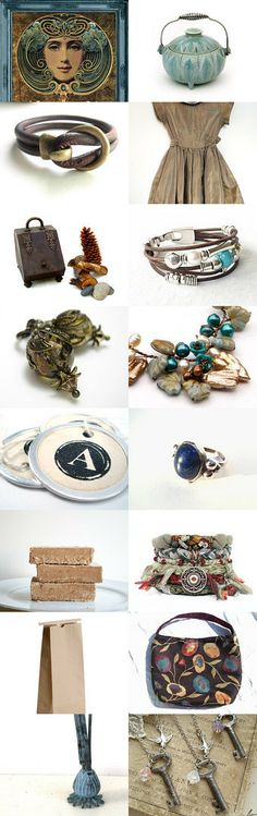 Lovely Together by Pat on Etsy--Pinned with TreasuryPin.com #gifts #accessories #kitchen #clothing #jewelry #bracelet #cuffbracelet #bohojewelry #bohobracelet #leatherjewelry #leathercuff #leatherbracelet #turquoisejewelry #turquoisebracelet #aqua #turquoise #brown #giftsforher #giftsforwomen #trendingjewelry #trendingbracelet #freshwaterpearljewelry #freshwaterpearlcuff #freshwaterpearlbracelet
