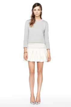 (this top is neoprene.) J.Crew women's spring/summer '14 collection.