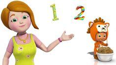 One Two Buckle My Shoe | 3d Nursery rhyme | Preschool kids song