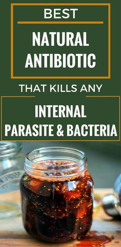 Best Natural Antibiotic That Kills Any Internal Parasite And Bacteria - There are many people facing with all sorts of parasites and bacteria present in the stomach and intestines that can lead to some serious dangerous diseases. Natural Health Remedies, Natural Cures, Natural Healing, Herbal Remedies, Natural Treatments, Natural Foods, Cold Remedies, Holistic Remedies, Natural Skin
