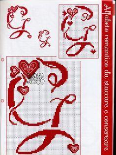 Gallery.ru / Фото #33 - Cose per Creare 2015-61 - tymannost Cross Stitch Bookmarks, Cross Stitch Alphabet, Cross Stitch Patterns, Crochet Instructions, Plastic Canvas Patterns, Loom Beading, Needlework, Arts And Crafts, Kids Rugs
