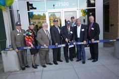 Ribbon cutting at Oregon Tech Wilsonville Grand Opening Event.