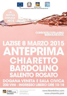 Domenica 8 marzo 2015 alla Dogana Veneta di Lazise Anteprima di Chiaretto e Bardolino @gardaconcierge