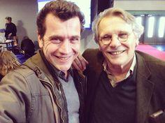 """212 mentions J'aime, 2 commentaires - Grégori Baquet (@gregoribaquet) sur Instagram: """"Petite table ronde avec Daniel Pennac, c'est immense auteur.. Merci Gallimard. #gallimard…"""""""