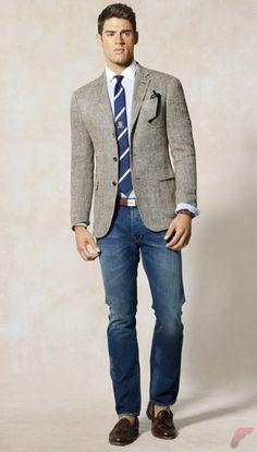 Men sport coat with jeans (53)