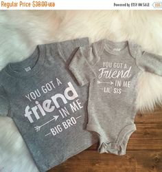 LAST CHANCE SALE Best friend shirts sibling shirts by LineLiam