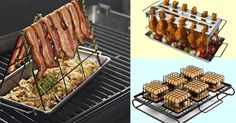 Become the grillmaster you always knew you were.  You can cook bacon on a grill. That is all.
