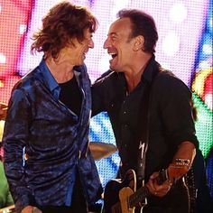 Bruce Springsteen and friends - Mick Jagger