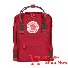 Kanken Mini Backpack Outer Polypropylene Backpack Model:Kids Gender:Kids Concept:Outdoor cm cm cm Weight g L Non Textile Parts of Animal Origin:No Activity:Everyday Outdoor Laptop pocket:No Fjallraven Kanken Mini, Kanken Backpack, Small Backpack, Mini Backpack, Louis Vuitton, Everyday Bag, Unisex, Abs, Rouge