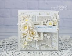 Wild Orchid Crafts: Soft wedding card