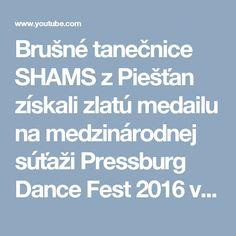 """Brušné tanečnice SHAMS z Piešťan získali zlatú medailu na medzinárodnej súťaži Pressburg Dance Fest 2016 v kategórií """"Malé skupiny"""" s irackým tancom, ktorý poukazuje na krásu ženských vlasov. Skladba: Hussein Al Tayeb - Ha Yoma Choreografia: Andrea Hornáková   Belly dance group SHAMS from Piestany (Slovakia) won a GOLD medal at international dance competition Pressburg Dance Fest 2016 in """"Small Groups"""" category with iraqi dance. Song: Hussein Al Tayeb - Ha Yoma Choreography: Andrea Hornák"""