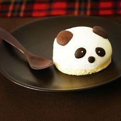 Mini Panda Head Cake--cannot get cuter than this !!!