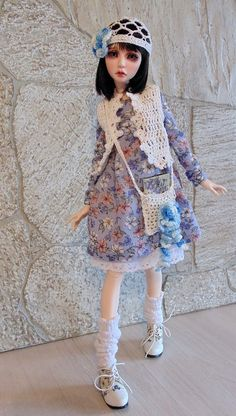 Мишель, bjd, dress, outfit