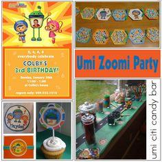 umi zoomi birthday party