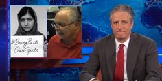 """""""The Daily Show"""" chastised the conservative commentator for mocking #BringBackOurGirls VIDEO"""