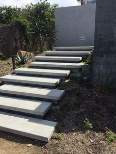 exterior cantilever concrete steps - Google Search