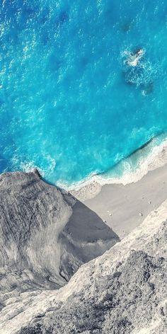 Drone Photography of ocean & beach view Drohnen-Fotografie d Strand Wallpaper, Ocean Wallpaper, Scenery Wallpaper, Nature Wallpaper, Animal Wallpaper, Types Of Photography, Aerial Photography, Landscape Photography, Nature Photography