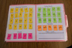 Works like magic, teaching letter sounds & building words.  Cheap too!!!!!