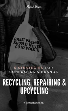 Recycling, Repairing & Upcycling: towards a Circular and Zero Waste Fashion. Ethical Clothing, Ethical Fashion, Fashion Moda, Fashion Fashion, Ethical Brands, Backpacking Tips, Friend Outfits, Future Fashion, Sustainable Fashion