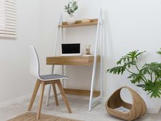 Re-envision your office or dining space with the Mocka Austin Chair. Seamlessly blending comfort and support with modern, urban styling, this desk or dining chair is sure to keep anyone in their seat. Kids Study Desk, Kid Desk, Study Space, Desk Space, Home Office Furniture Desk, Home Office Desks, Urban Furniture, Small Office Desk, White Office
