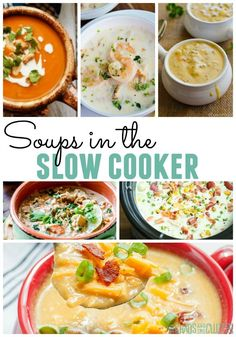 It's so nice to come home to a delicious soup cooking in the crock pot. Crock Pot Soup, Crockpot Dishes, Crock Pot Slow Cooker, Crock Pot Cooking, Slow Cooker Recipes, Crockpot Recipes, Soup Recipes, Cooking Recipes, Recipies