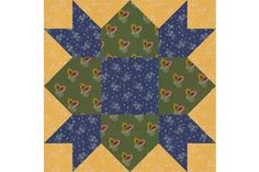 Choose from Three Block Sizes When You Sew the Weathervane Design: How to Make Weathervane Quilt Blocks