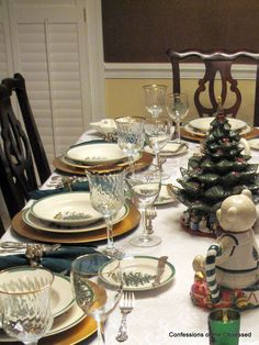 "Another ""look"" for Spode Christmas Tree."