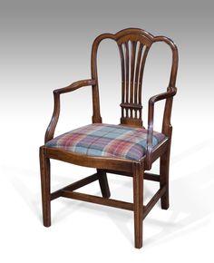 Georgian carver chair