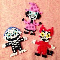 Nightmare before Christmas perler beads by nun_