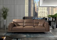 There's no need to choose between comfort and style with the striking Rigoletto sofa by Cierre. The adjustable headrests provide support and allow you to put it in the exact position you like, and the soft upholstery offers comfort for hours. Sofa, Couch, Upholstery, Furniture, Home Decor, Style, Swag, Settee, Settee