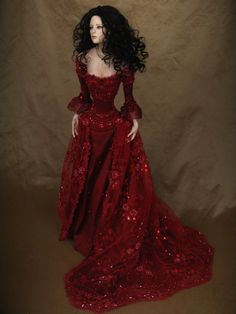 Don't a big doll fan, but some i've seen lately are truly remarkable....Tom Francirek Collectible Dolls