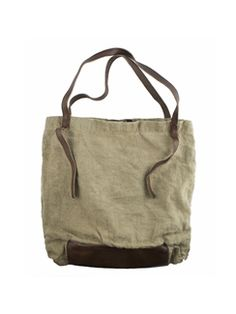 49 Square Miles - Washed Linen Tote Natural