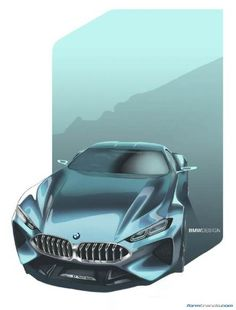 BMW Concept 8 Series sketch