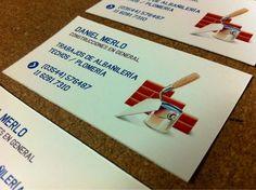 Parte de los últimos trabajos: diseño e impresión de tarjetas personales ---> Derechito a Córdoba!