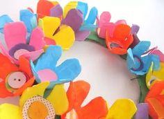 Easter DIY Spring Wreath by Krafty Kat