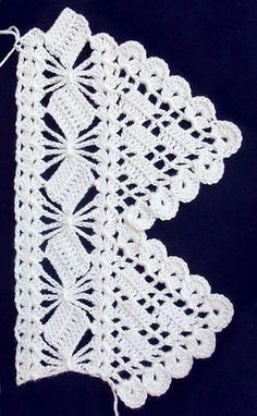 Exquisite Crochet Lace edge