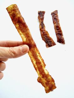 Vegan Rice Paper Bacon Strips Recipe - looks real. Tastes real. 100% plant based. | {gluten, nut & refined sugar free, soy free option} veganchickpea.com